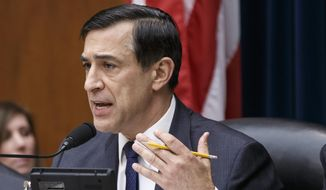 ** FILE ** This March 26, 2014, file photo shows House Oversight Committee Chairman Rep. Darrell Issa, R-Calif., on Capitol Hill in Washington. (AP Photo/J. Scott Applewhite, File)