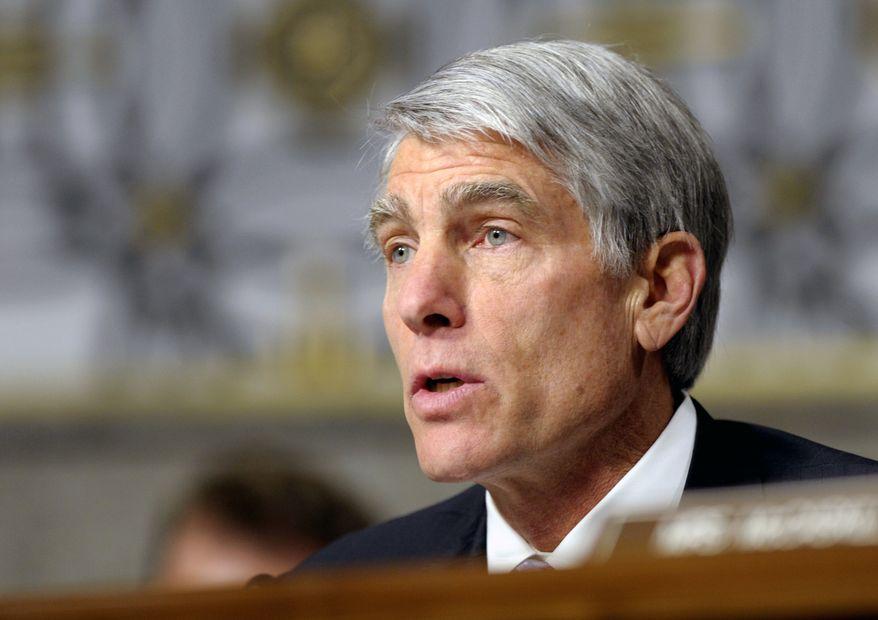 **FILE** Sen. Mark Udall, Colorado Democrat, speaks on Capitol Hill in Washington on Jan. 31, 2013. (Associated Press)