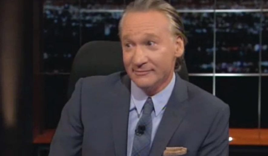 "Bill Maher (""Real Time"" screen shot) ** FILE **"