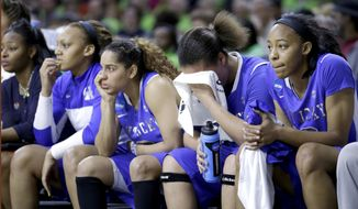 Kentucky players react as they watch from the banch during the second half of a regional semifinal in the NCAA college basketball tournament against Baylor at the Purcell Pavilion in South Bend, Ind., Saturday, March 29, 2014. Baylor won 90-72. (AP Photo/Nam Y. Huh)