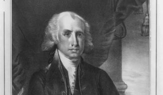 """James Madison, the Father of the Constitution, warned that the """"freedom of the people"""" is imperiled more by """"gradual and silent encroachments of those in power, than by violent and sudden usurpations."""" (Library of Congress)"""