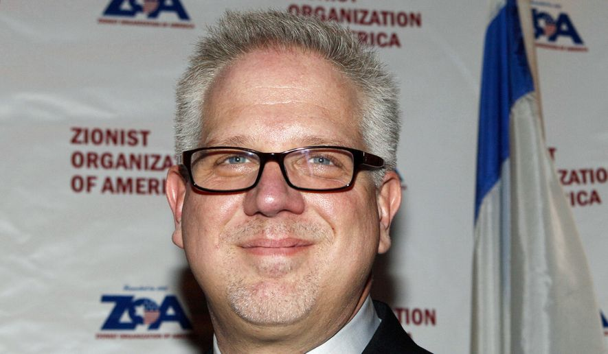 This Nov. 20, 2011, file photo shows TV and radio commentator Glenn Beck at the 114th Anniversary Justice Louis Brandeis award Dinner given by the Zionist Organization of America in New York. (AP Photo/David Karp, File)