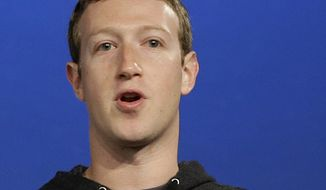 Facebook CEO Mark Zuckerberg speaks at Facebook headquarters in Menlo Park, Calif., March 20, 2013. (Associated Press) ** FILE **