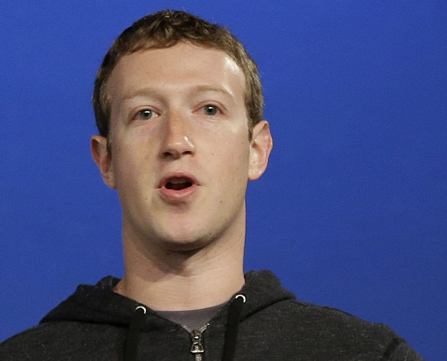 Facebook CEO Mark Zuckerberg speaks at Facebook headquarters in Menlo Park, Calif., March 20, 2013. (Associated Press) ** FILE **