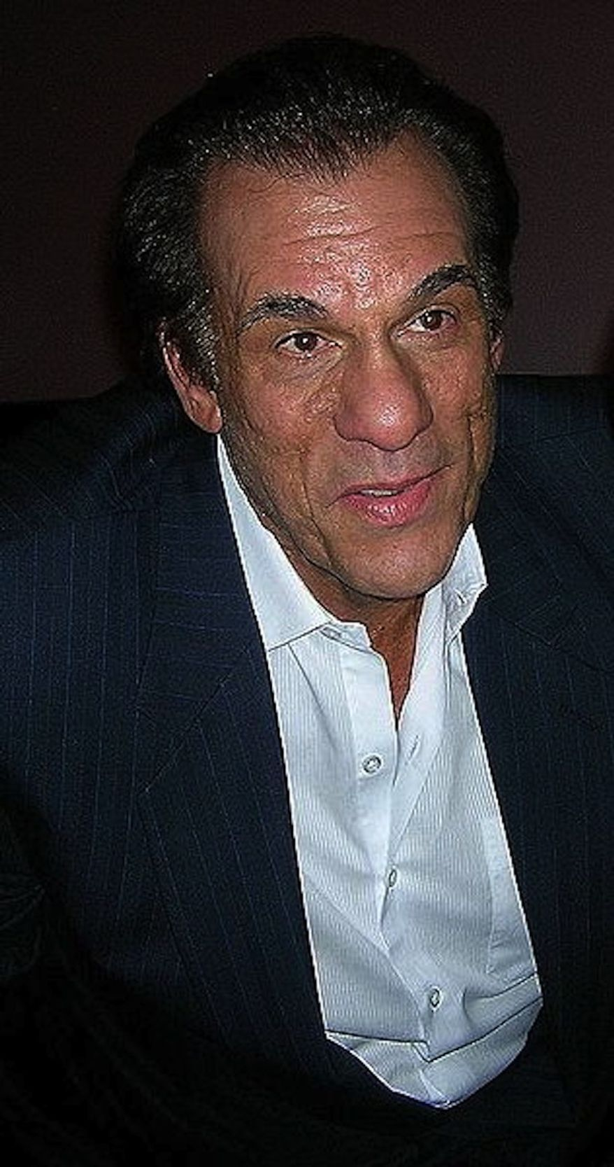 "Robert Davi played Jake Fratelli in ""The Goonies."" (Wikimedia Commons)"