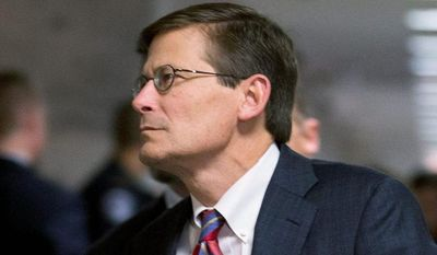 "** FILE ** Then-Deputy CIA Director Michael J. Morell received an email dated Sept. 15, 2012, from the Libya station chief saying that the Benghazi attack was ""not an escalation of protests."" (Associated Press)"