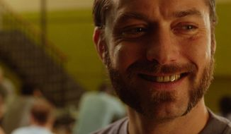 """This image released by Fox Searchlight Pictures shows Jude Law in a scene from """"Dom Hemingway."""" (AP Photo/Fox Searchlight Pictures)"""