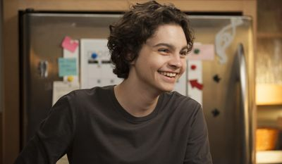 """This image released by NBC shows Max Burkholder as Max Braverman from the series, """"Parenthood,""""airing Thursdays at 10 p.m. EST on NBC. (AP Photo/NBC, Colleen Hayes)"""