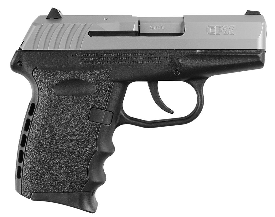SCCY Generation 2 CPX 9mm has a 3.1-inch barrel, an overall length of 5.7 inches, a width of 1 inch, a height of 4 inches and a weight of 15 ounces empty. The SCCY CPX comes with two 10-round, double-stack magazines.