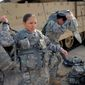 "The Pentagon said 4 percent of all active-duty military women in 2010 and 6 percent in 2012 were victims of ""unwanted sexual contact"" in the previous 12 months. (Associated Press)"