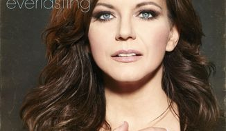 "This CD cover image released by Vinyl Recordings shows ""Everlasting,"" by Martina McBride. (AP Photo/Vinyl Recordings)"