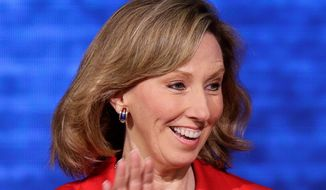 Virginia Delegate Barbara J. Comstock is seeking the Republican nomination for a soon-to-be-vacated U.S. House seat. (associated press)