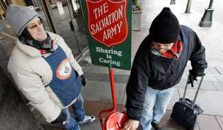 Ever since the economic crash in 2008, not-for-profit organizations report a steady increase in demand for their services from people who can no longer afford clothing, food and shelter. (Associated Press)