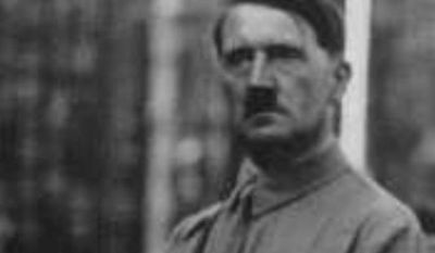 ** FILE ** An undated photo of Adolph Hitler. (Image: United States Holocaust Museum)