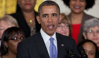 President Obama must often split his time between Democratic fundraiser appearances and governing the country. (Associated Press)