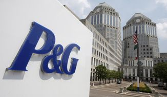 FILE - This Aug. 2, 2010, file photo, shows the Procter & Gamble Co. headquarters building in Cincinnati. Procter & Gamble is selling some of its pet food brands to Mars for $2.9 billion as part of its turnaround plan that includes concentrating on its most profitable core businesses. The world's biggest consumer products maker, whose products include Tide detergent and Crest toothpaste, on Wednesday, April 9, 2014 announced that it is selling the Iams, Eukanuba and Natura brands in North America, Latin America and certain other countries. (AP Photo/Al Behrman, File)