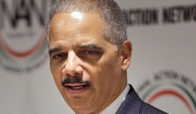 The U.S. Sentencing Commission included a rebuke of Attorney General Eric H. Holder Jr. while approving reduced sentencing guidelines for certain nonviolent drug offenses. (Associated Press)