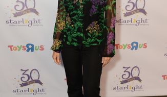 "FILE - This Sept. 25, 2013, file photo, provided by the Starlight Children's Foundation, shows Carol Leifer at the Starlight Awards held at the Skirball Cultural Center, in Los Angeles. Leifer's book ""How to Succeed in Business Without Really Crying,"" a memoir about work lessons she's learned, was published Tuesday, April 8, 2014, by Quirk Books. (AP Photo/Starlight Children's Foundation/Jordan Strauss, File)"