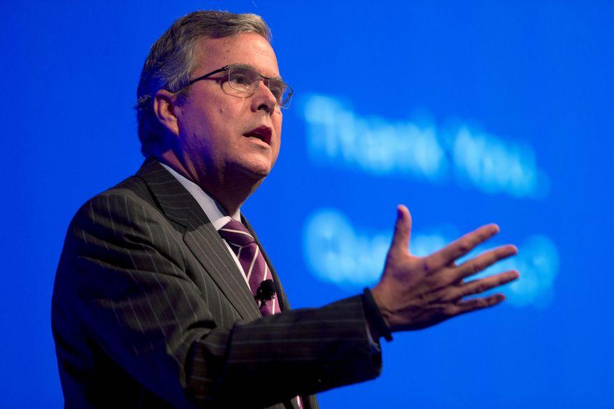 ** FILE ** Former Florida Gov. Jeb Bush (Associated Press)