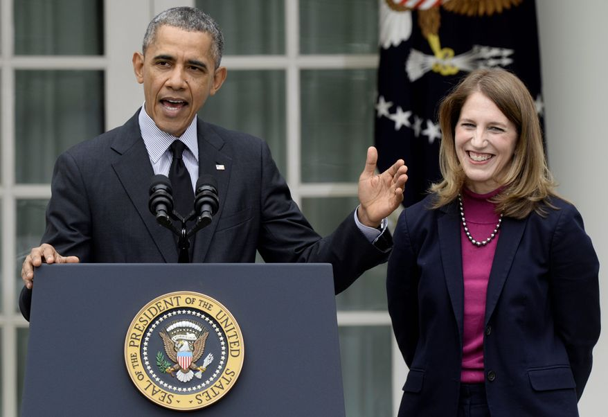 Sylvia Matthews Burwell received at least $750,000 in bonuses while president of Wal-Mart's charitable foundation in 2012. Internal Revenue Service records show that the job is unpaid and the more than $1.2 million in salary, deferred compensation and bonuses paid to Ms. Burwell came through her lesser-known role as a vice president at Wal-Mart Stores Inc., according to a government ethics filing. (Associated Press)