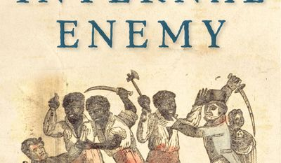 """This book cover image released by W. W. Norton & Company shows """"The Internal Enemy: Slavery and War in Virginia, 1772-1832,"""" by Alan Taylor. On Monday, April 14, 2014, Taylor won the Pulitzer Prize for history for his book. (AP Photo/W. W. Norton & Company)"""