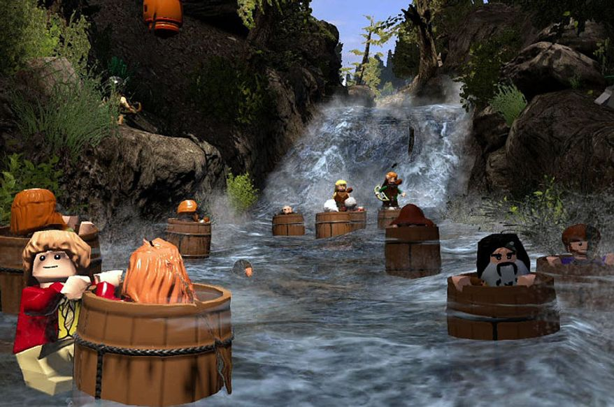 Lego The Hobbit adapts scenes from Peter Jackson's latest Middle-earth films into a Lego-ized, video game.