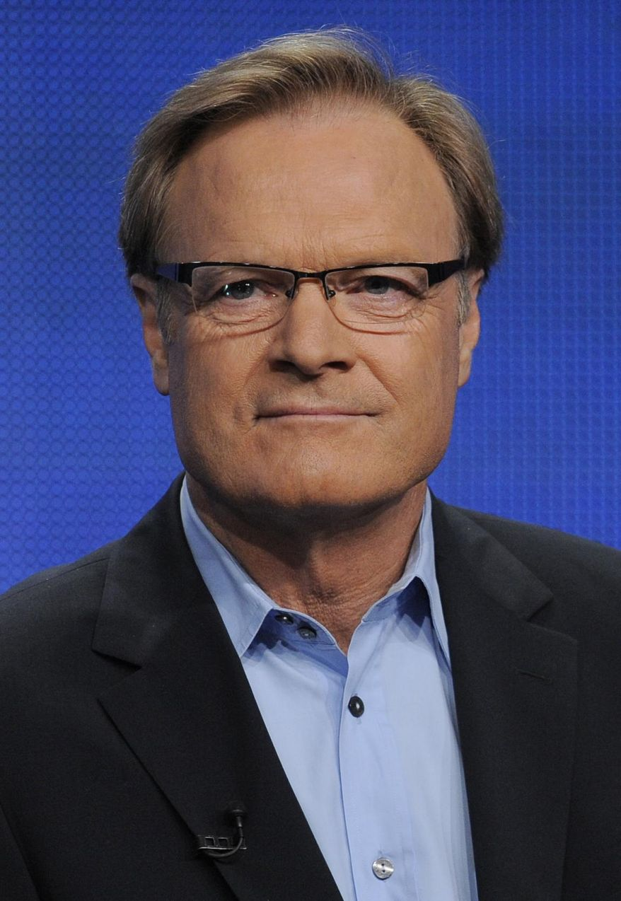 "FILE - In this Aug. 2, 2011 file photo, Lawrence O'Donnell, host of ""The Last Word"" on MSNBC, is pictured during the NBC Universal summer press tour in Beverly Hills, Calif. O'Donnell was injured with his brother Michael in a taxi accident on Saturday, April 12, 2014, while vacationing out of the country. The network did not specify where. (AP Photo/Chris Pizzello, File)"