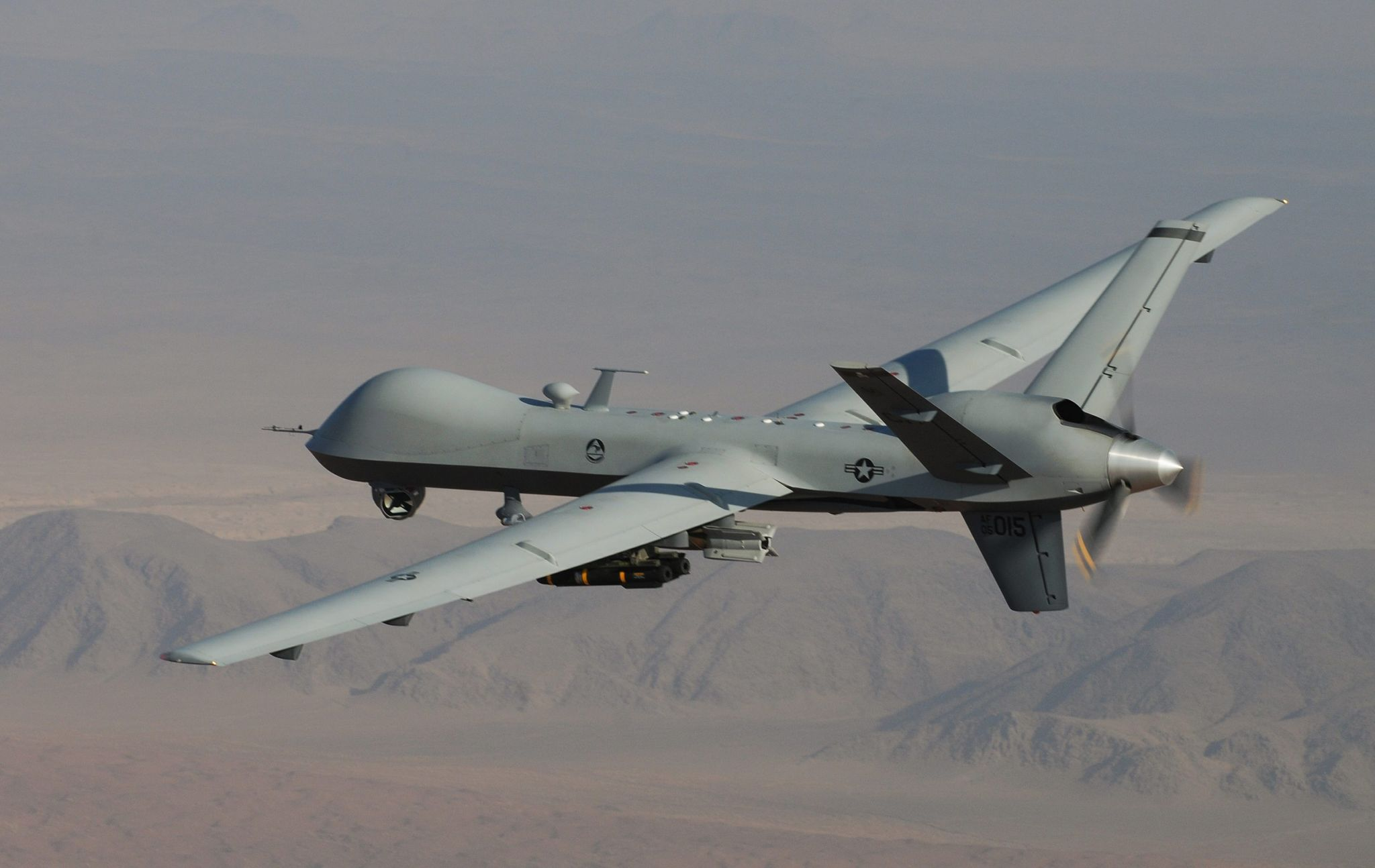Fuel-filled wings, ability to swarm: Pentagon offers glimpse at future of drone fleet