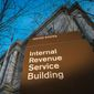 This April 13, 2014, file photo shows the headquarters of the Internal Revenue Service (IRS) in Washington. (AP Photo/J. David Ake, File)