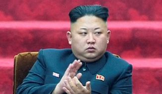 North Korean leader Kim Jong-un (Associated Press) **FILE**