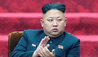 North Korean leader Kim Jong-un (Associated Press) **FILE**