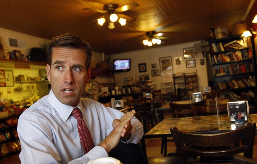 This Aug. 11, 2010 file photo, Delaware Attorney General Beau Biden responds to a question during an interview with the Associated Press in Dover, Del.  Biden says he won't seek re-election as Delaware attorney general this year but plans to run for governor in 2016. Biden, who underwent surgery at a Texas cancer center last year, announced his intentions in a statement issued Thursday, April 17, 2014. The 45-year-old Biden had said previously that he would seek a third term as attorney general. He is the oldest son of Vice President Joe Biden.  (AP Photo/Ann Heisenfelt)