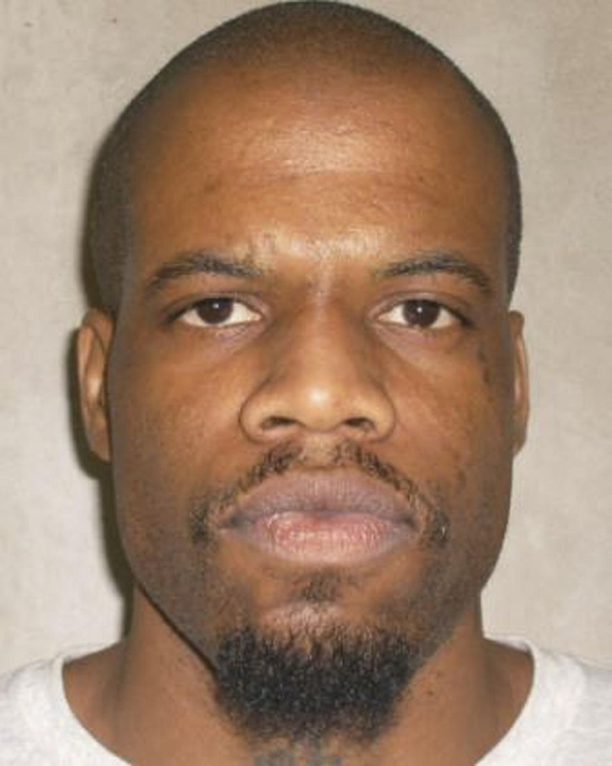 FILE - This June 29, 2011 file photo provided by the Oklahoma Department of Corrections shows Clayton Lockett. Lockett is one of is one of two Oklahoma death row inmates scheduled to be executed who have sued state corrections officials to obtain details about the lethal drugs that will be used to execute them, including their source. (AP Photo/Oklahoma Department of Corrections, File)