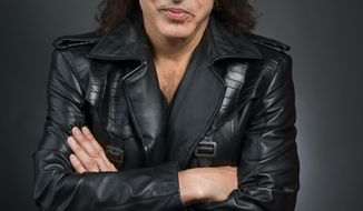 """FILE - This April 7, 2014 file photo shows guitarist and frontman of the band """"Kiss,"""" Paul Stanley in New York.  Stanley released a memoir, """"Face The Music:  a Life Exposed,"""" this month. (Photo by Scott Gries/Invision/AP, File)"""