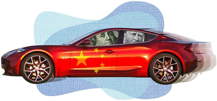 Ben and Ulysses Go to China Illustration by Greg Groesch/The Washington Times