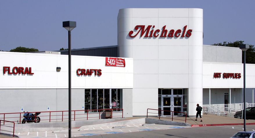 **FILE** A Michaels store in Dallas is seen here on June 15, 2006. (Associated Press)