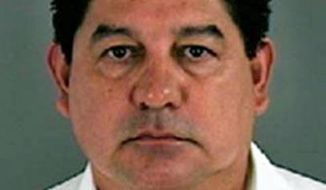 This undated handout photo provided by the El Paso County Sheriff's Office on Aug. 1, 2011 shows Lorenzo Garcia. The El Paso Times reports Saturday, April 19, 2014 that Texas education officials want to repeal the state certifications of 11 administrators linked to an El Paso classroom cheating scandal from 2007 to 2010. School officials were accused of holding students back or coercing them into dropping out to improve standardized test scores. The fallout led to Garcia, the former district superintendent, pleading guilty to fraud. He is serving a three-year prison term. (AP Photo/El Paso County Sheriff's Office)
