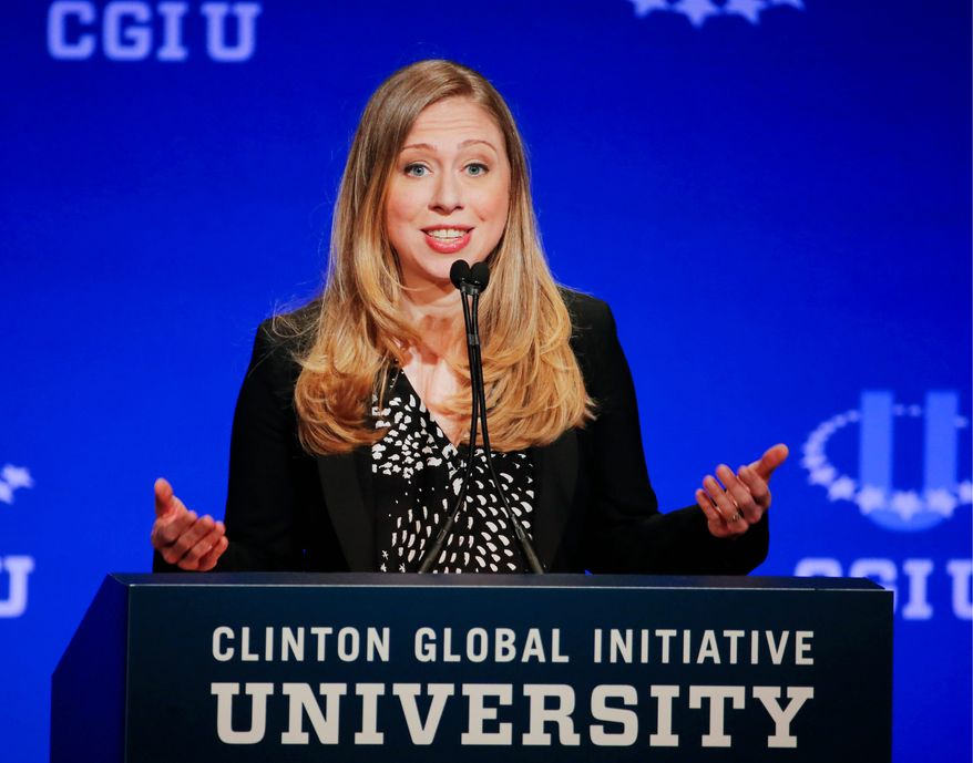 Within hours of Chelsea Clinton's announcement last week that she is pregnant, pundits, columnists and reporters began pontificating on what type of impact being a grandmother will have on Hillary Rodham Clinton's possible presidential campaign, should she run for president in 2016. (Associated Press)