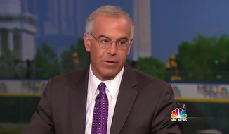 """New York Times columnist David Brooks said Sunday that he believes President Obama's foreign policy isn't """"tough enough"""" and that he has a """"manhood problem"""" when it comes to dealing with leaders like Vladimir Putin and Bashar al-Assad. (NBC News via Think Progress)"""