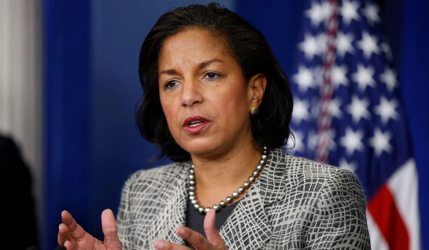 National Security Adviser Susan Rice (Associated Press/File)