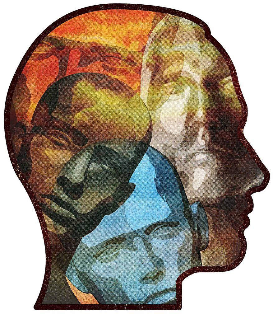 Mental Illness Illustration by Greg Groesch/The Washington Times