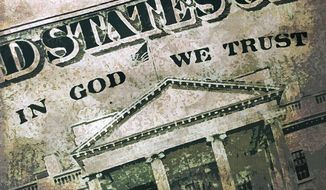 In God We Trust Illustration by Greg Groesch/The Washington Times