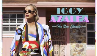 "This CD cover image released by Island Def-Jam shows ""The New Classic,"" by Iggy Azalea. (AP Photo/Island Def-Jam)"