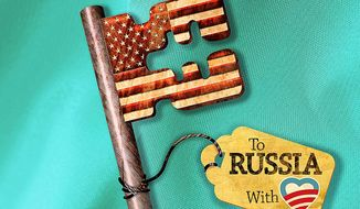 To Russia With Love Illustration by Greg Groesch/The Washington Times