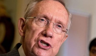 "A GOP strategist said that Senate Majority Leader Harry Reid, a former boxer and ex-chairman of the powerful Nevada Gaming Commission, likely relishes being ""best bodyguard that president Obama has."" (Associated Press)"