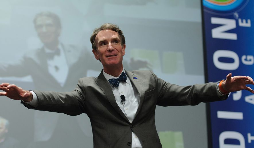 Bill Nye will perform at USA Science and Engineering Festival on Saturday and Sunday.