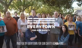 'Not Our Words' ad from Everytown for Gun Safety (screen shot)