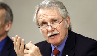 ** FILE ** Oregon Gov. John Kitzhaber. (AP Photo/Don Ryan, File)
