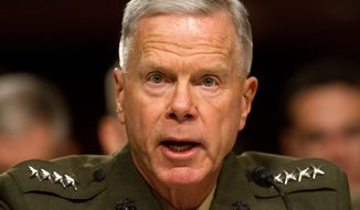 Marine Corps Commandant Gen. James Amos