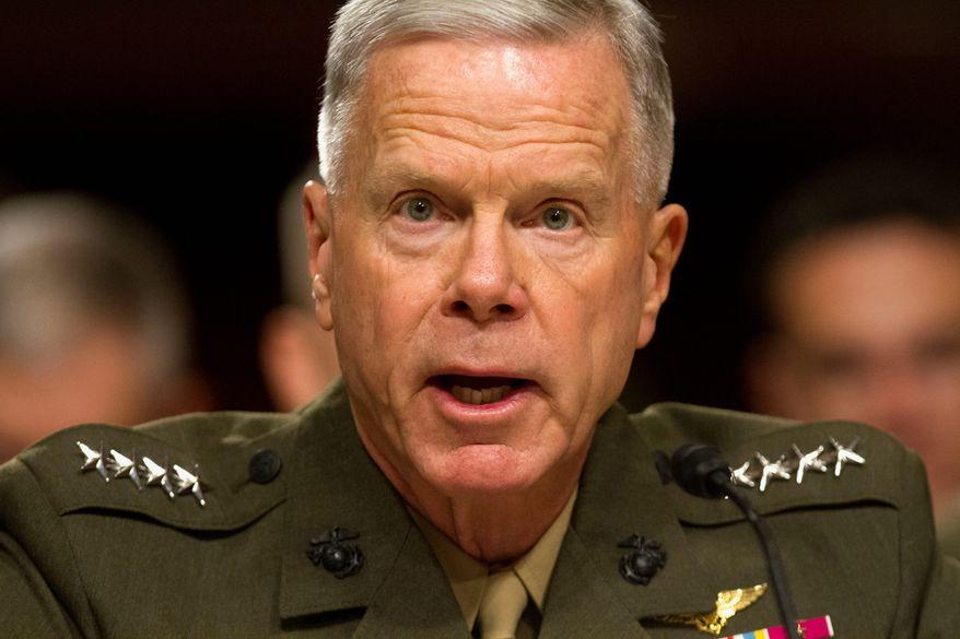 Marine Corps Commandant Gen. James Amos